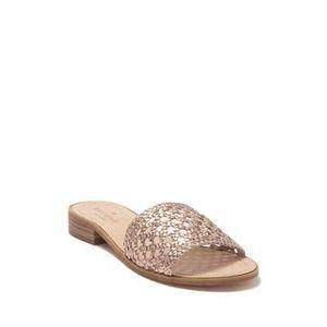 Kate Spade Berlin Rose Gold Woven Sandals 9